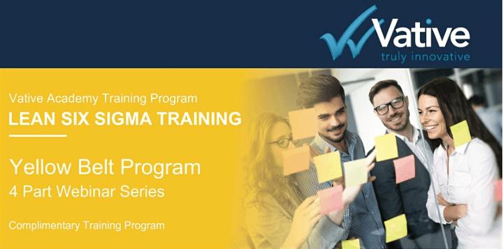 WEBINAR: Complimentary Lean Six Sigma Training