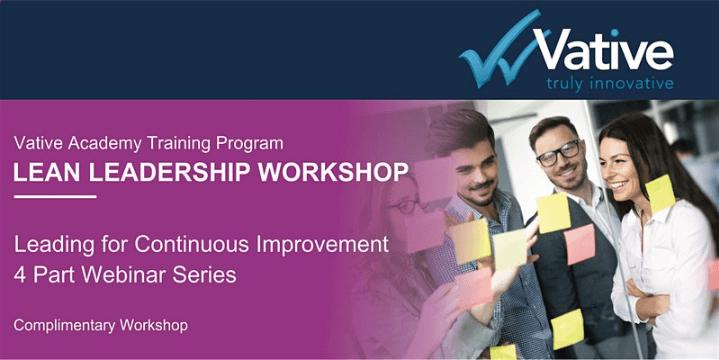 WEBINAR: Lean Leadership Workshop