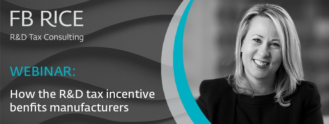 How the R&D tax incentive benefits manufacturers