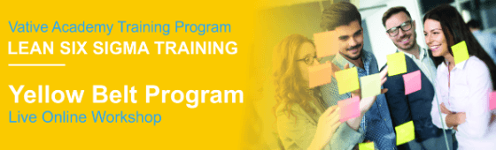 1 Day Course: Lean Six Sigma Yellow Belt Program