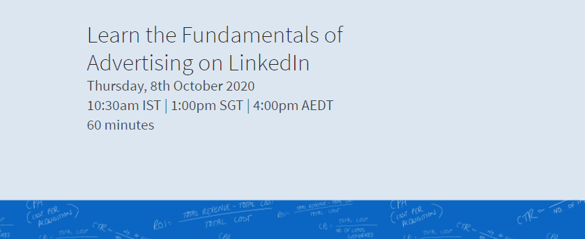Learn the Fundamentals of Advertising on LinkedIn
