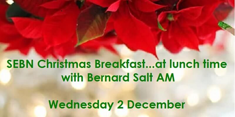 SEBN Christmas Breakfast… at lunch time with Bernard Salt AM