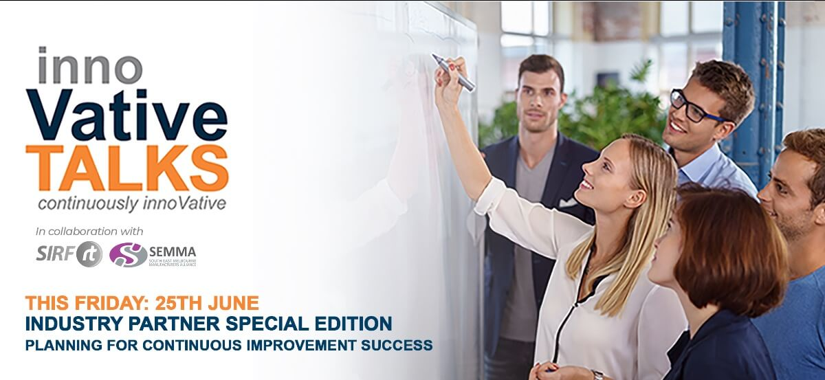 Innovative Talks: Planning for Continuous Improvement Success Workshop